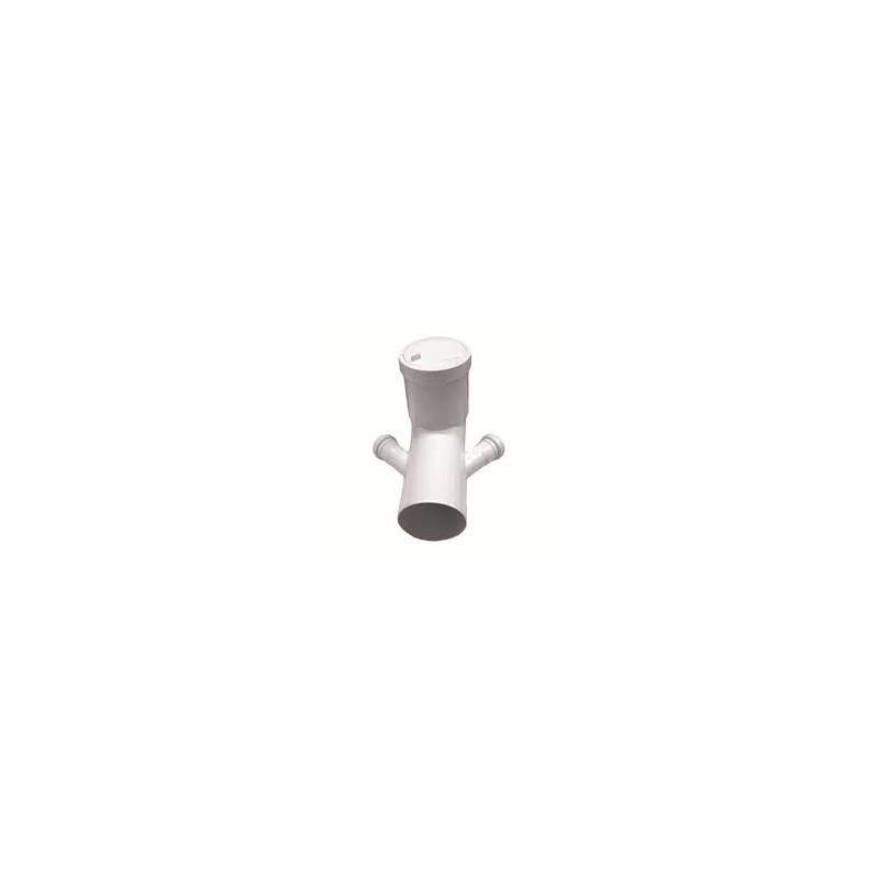 Valsir curva PP per scarico WC prolungata diam. 110 mm con attacco ...