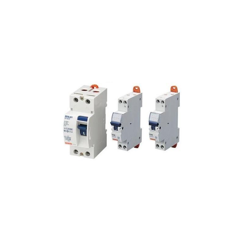 BTDIN45 INTERRUTTORE MAGNETOTERMICO DIFFERENZIALE AC 1P+N BTICINO GA8813AC10