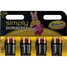 Duracell SIMPLY batteria...