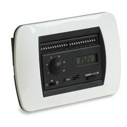 Tecno Switch cronotermostato elettronico da incasso giornaliero antracite