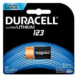 Duracell batteria al litio...