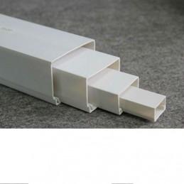 Canalina in PVC 18 x 18 bianca